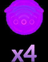 x4 Capacity