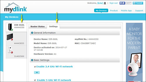 How do I change the Wi-Fi Password on my router? | D-Link