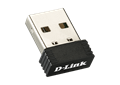 D-Link DWA-121 Wireless N 150 Pico USB Adapter left side image