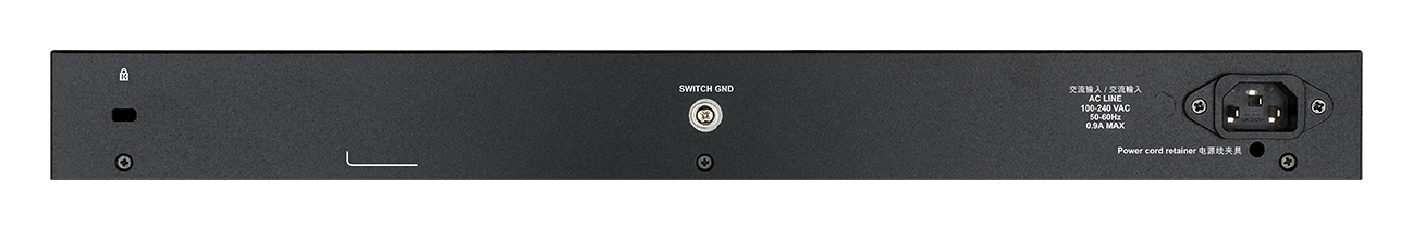DGS-1250-28X 28-Port Gigabit Smart Managed Switch with 10G Uplinks back