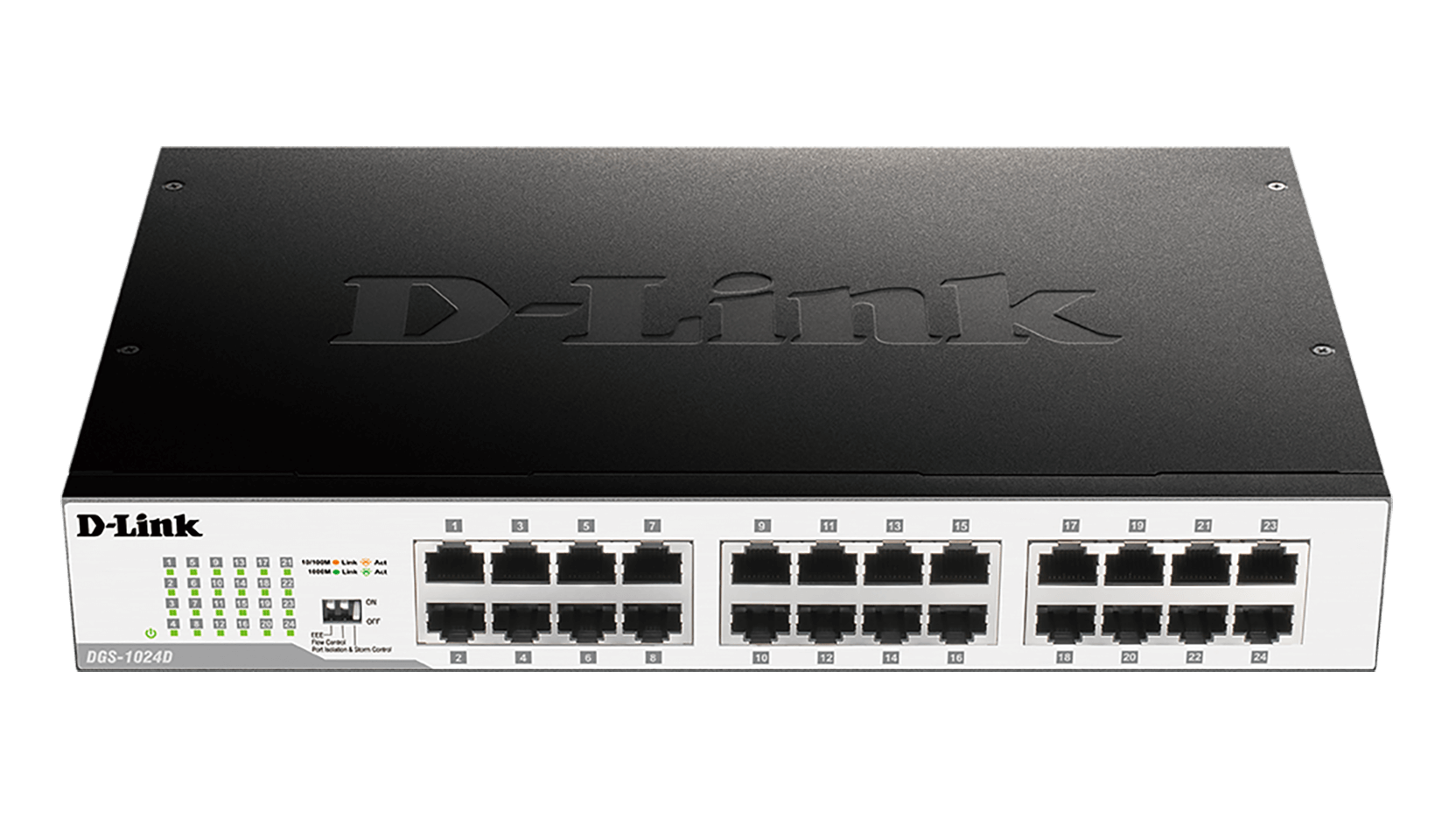 Dgs 1024d 24 Port Gigabit Unmanaged Desktop Switch D Link