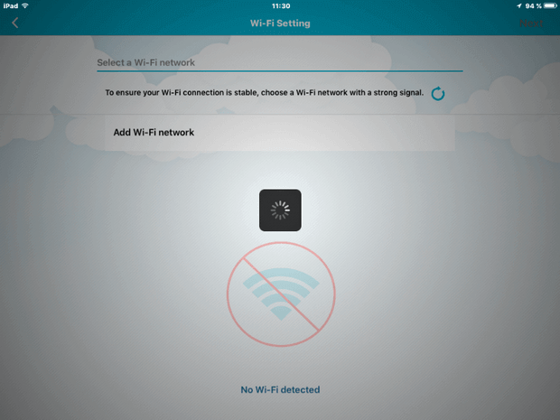 DCS-960L How to Install Manually with an iPad