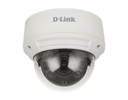 DCS-4618EK 8 Megapixel H.265 Outdoor Dome Camera - front view.