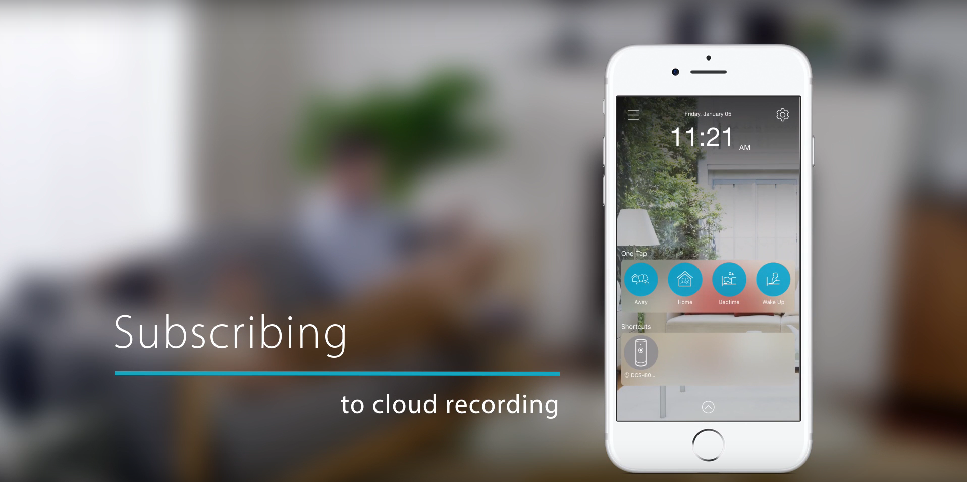 mydlink video setup tutorial - Subscribing to Cloud Recording
