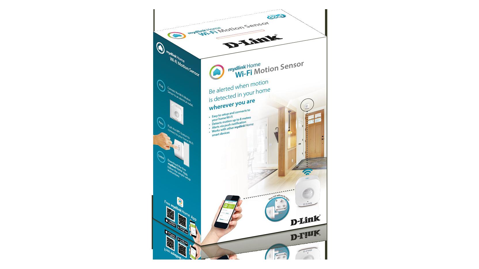 Mydlink Home Wi Fi Motion Sensor D Link Deutschland