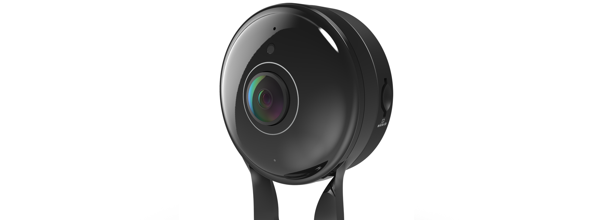 Side of the DCS-2530L Wide Eye Full HD 180° Panoramic Camera
