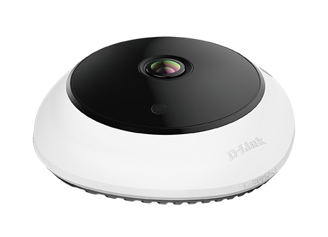 DCS-4625 5-Megapixel Panoramic Fisheye Camera - angled view