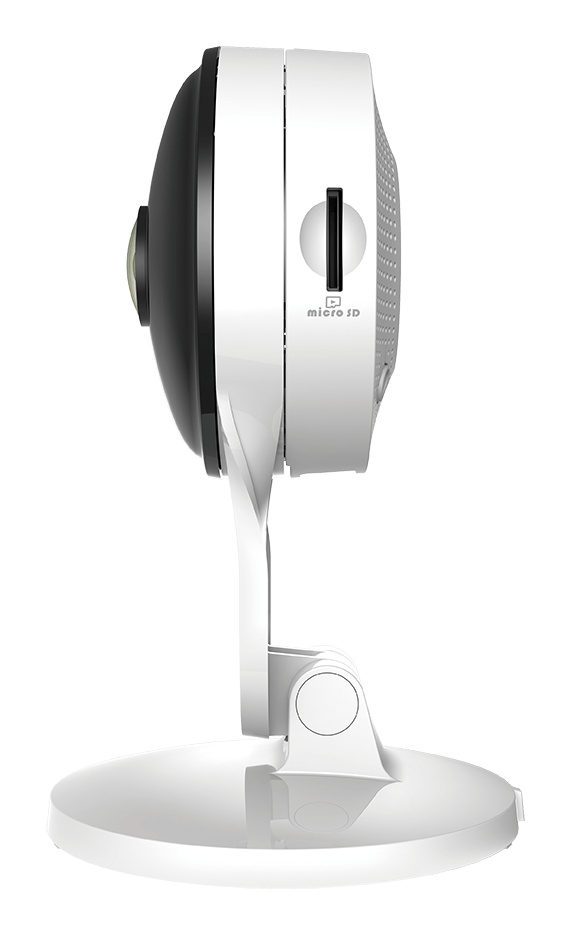 Profile side of the DCS-8300LH mydlink Full HD indoor Camera