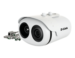 DCS-9500T Group Temperature Screening Camera - side angle with cables