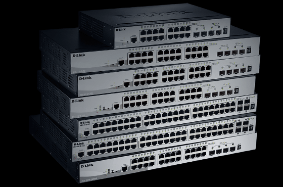 DGS-1510 SFP+ Physical Stackable smart switch