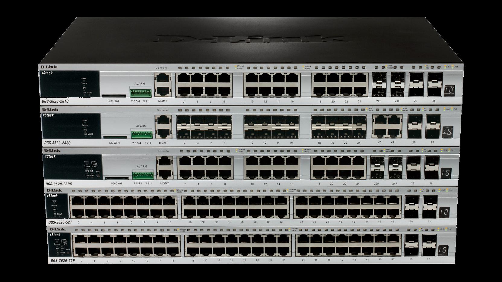 D-Link DGS-3620-28SC-SI L3 Gigabit Switch Drivers for Windows XP