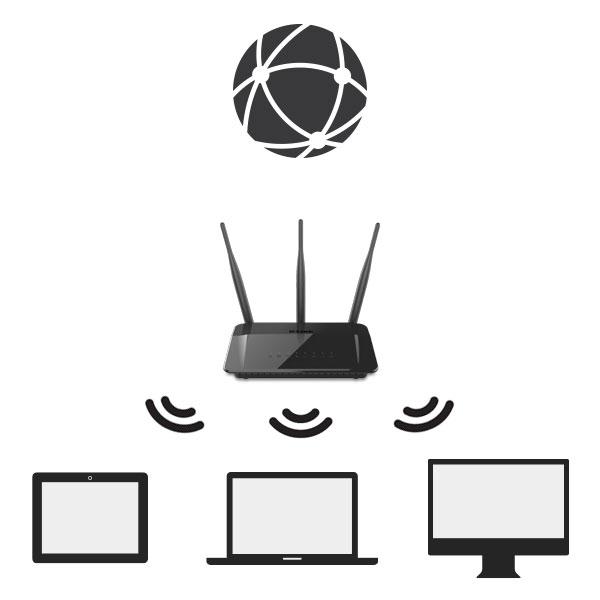 Gut bekannt DIR-809 Wireless AC750 Dual Band Router | D-Link Deutschland SA77
