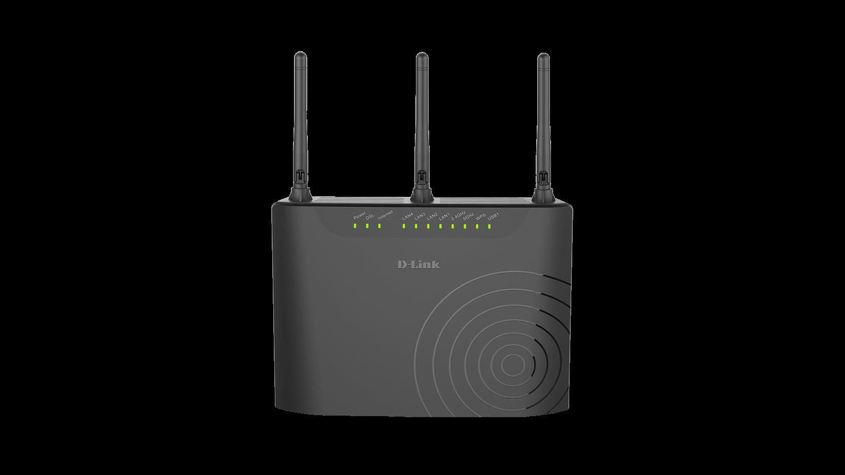 DSL-3682 Wireless AC750 Dual-Band VDSL/ADSL Modem Router   D-Link ...