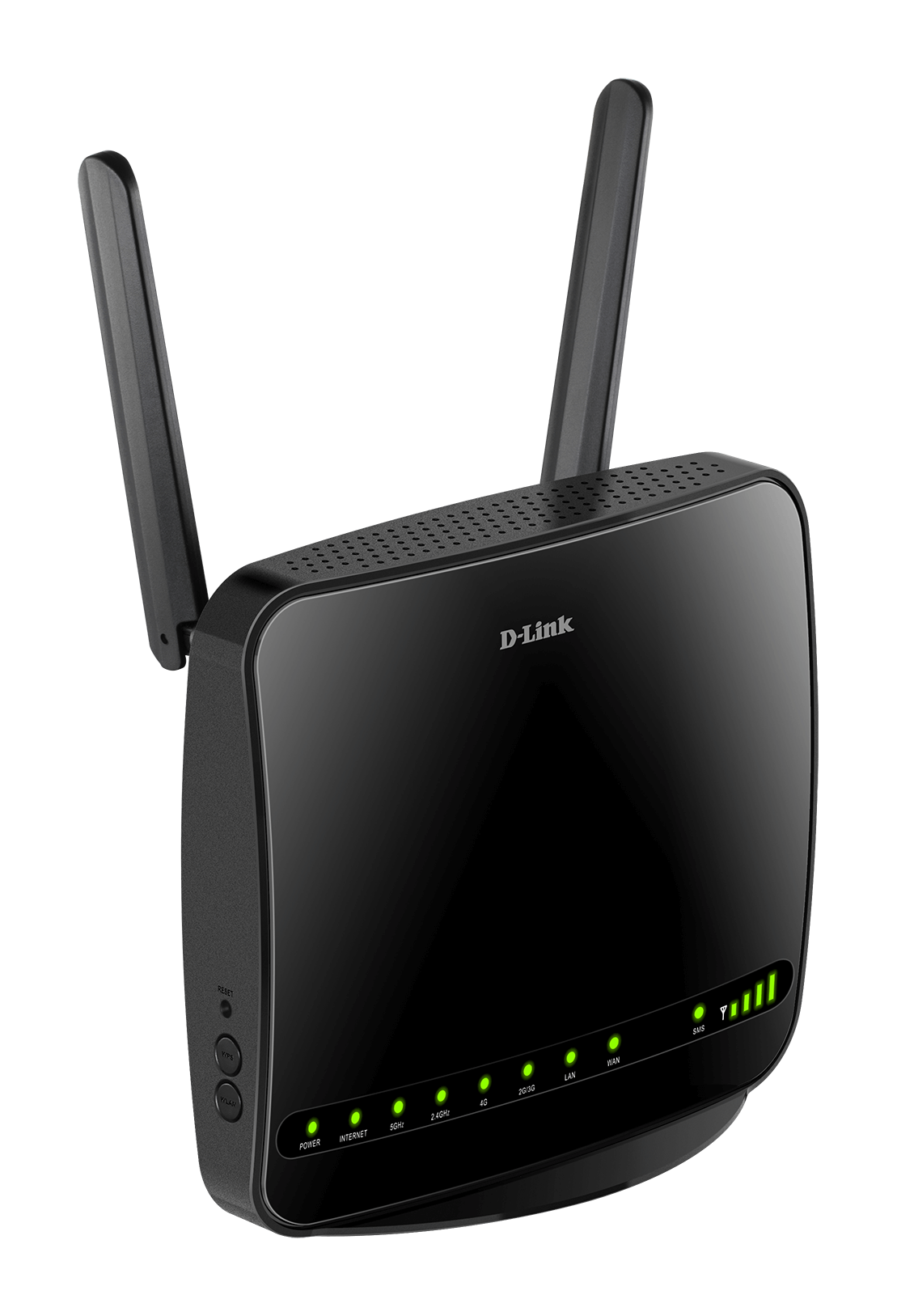 DWR-953 B1 Wireless AC1200 4G LTE Multi-WAN Router Image Side Right