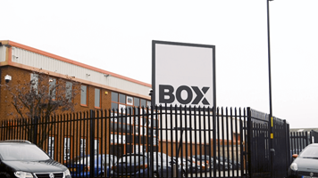 Box's Minworth showroom