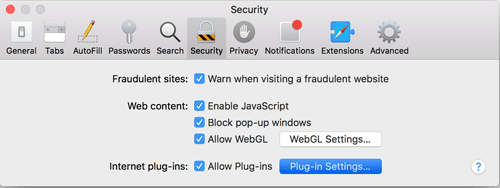 Enabling mydlink Safari Plugin in Mac