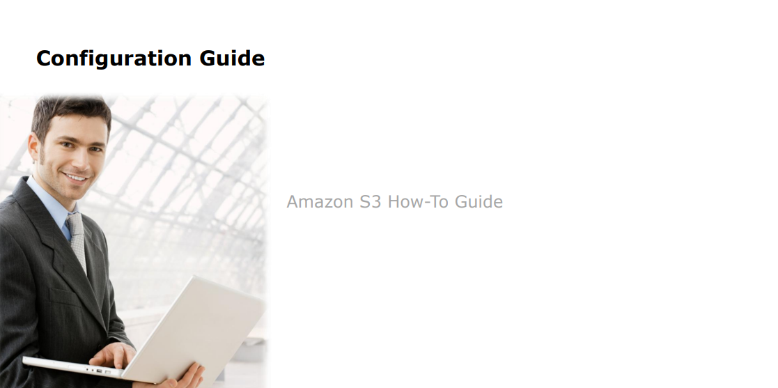 D-Link Amazon S3 How-To Guide