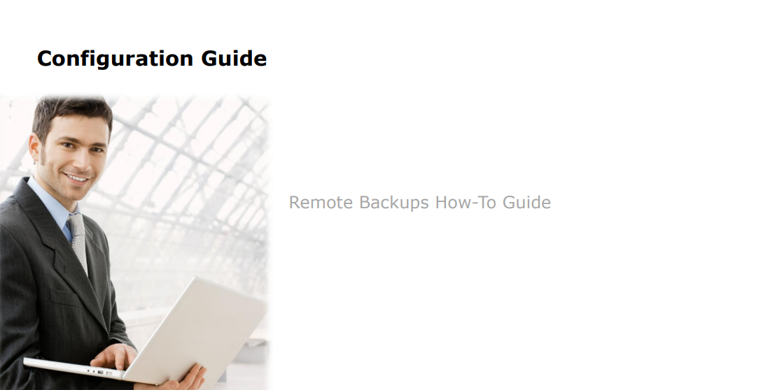 Remote Backups How-To Guide