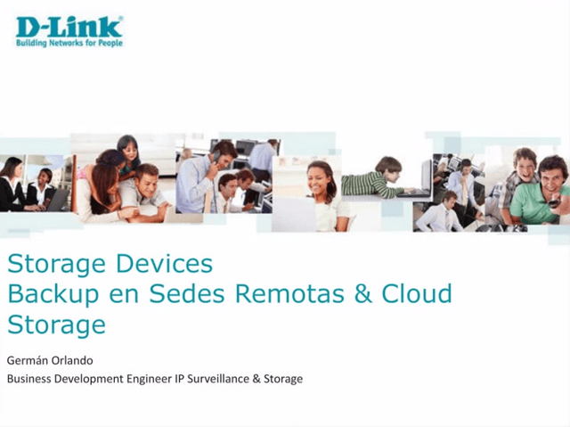 D Link Webinar Cloud Backup NAS GoogleDrive