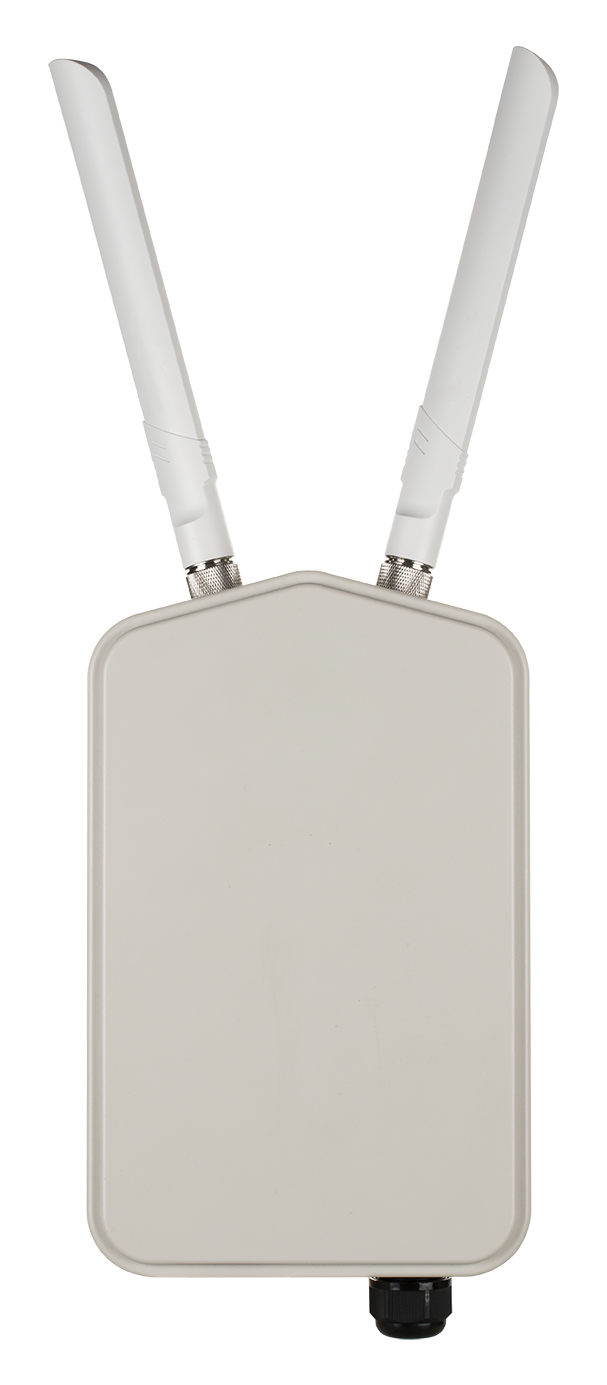 DBA-3621P Wireless AC1300 Wave 2 Outdoor Cloud‑Managed Access Point - front view