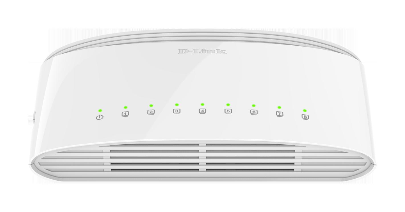Dgs 1008d Switch 8 Puertos 10 100 1000mbps No Gestionable D Link Edimax Es 1008p Port Fast Ethernet Poe Espaa