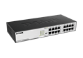 DGS-1016D 16-Port Gigabit Unmanaged Desktop Switch Side View