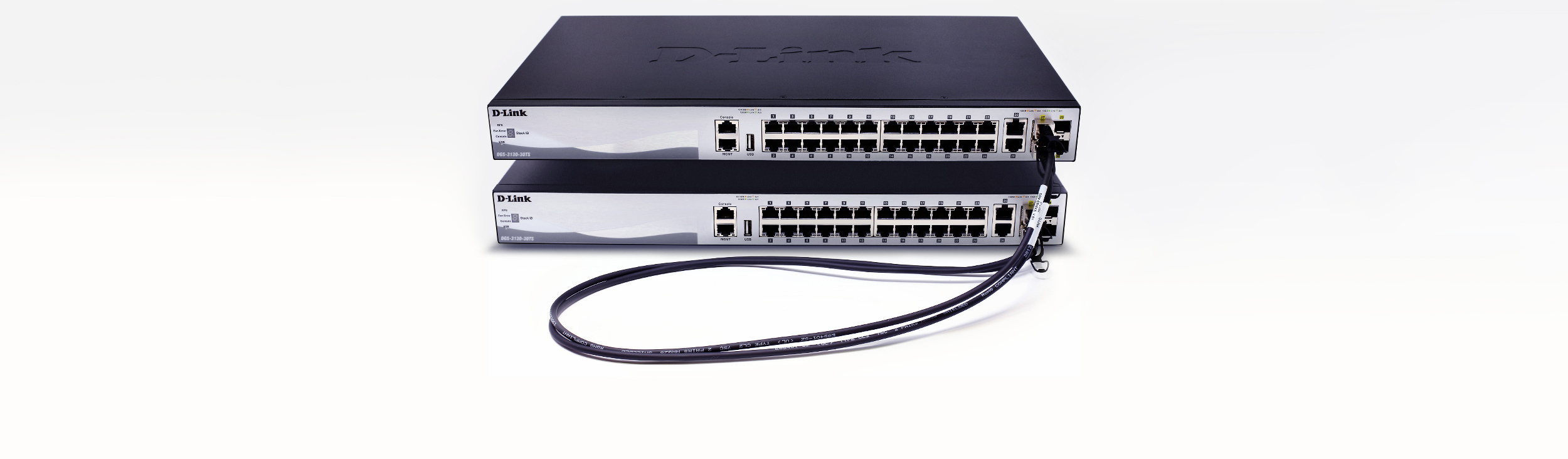 DGS-3130 Gigabit Layer 3 Stackable Managed Switches