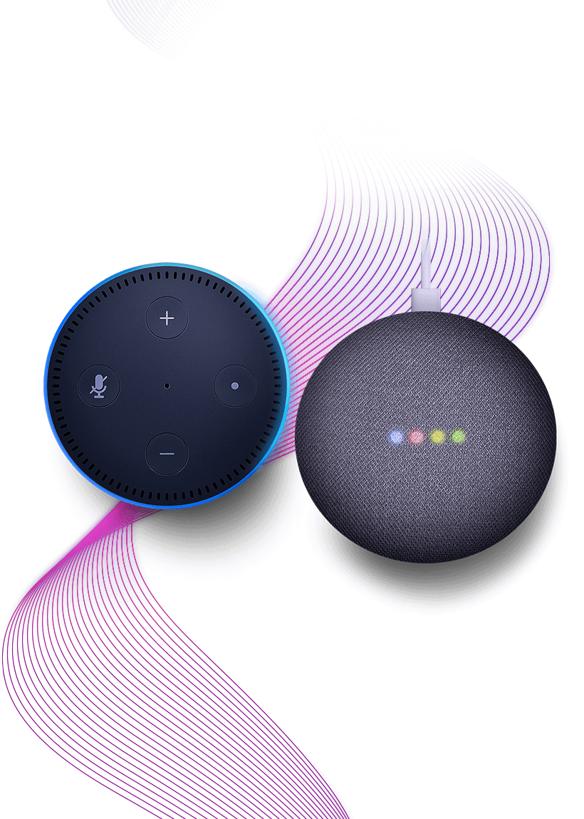 Alexa and Google Assistant compatible