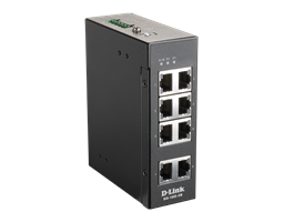 DIS-100E-8W Unmanaged Industrial Switch