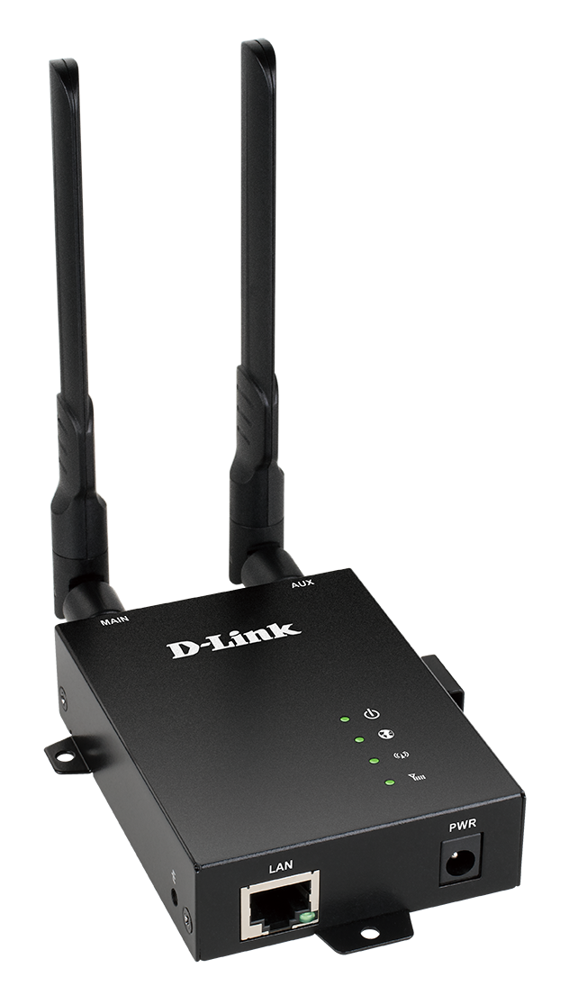 Side of the DWM-312 4G LTE M2M Router