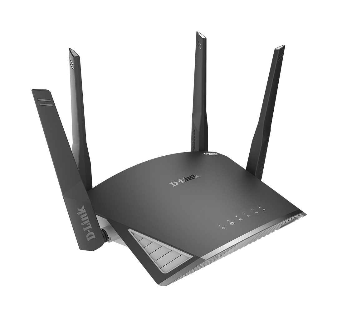 DIR-2660 EXO AC2600 Smart Mesh Wi-Fi Router side angle right