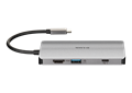 DUB-M810 8-in-1 USB-C Hub with HDMI/Ethernet/Card Reader/Power Delivery - back