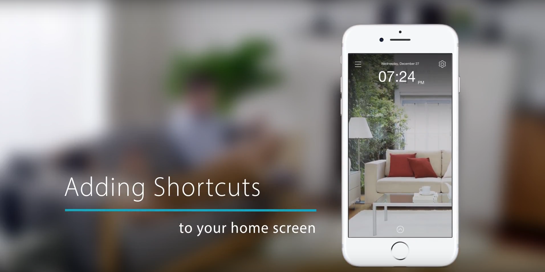mydlink video setup tutorial - Adding Shortcuts to your home screen