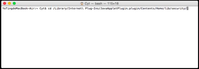 Comment Faire Fonctionner Mydlink Avec Java 8 U31 Sur Mac Os D