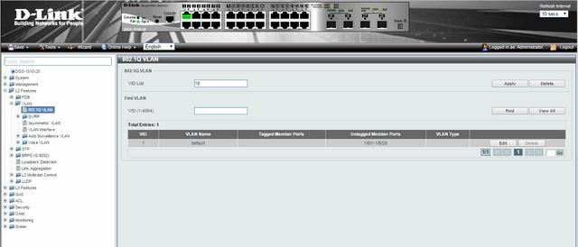 Comment configurer des VLANS - Scénario de configuration