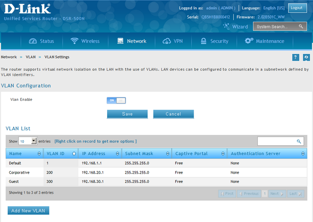 How to Create Multi-SSIDs and VLANs - FW 4 4 x | D-Link France