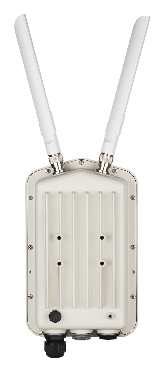 DBA-3621P Wireless AC1300 Wave 2 Outdoor Cloud‑Managed Access Point - back view