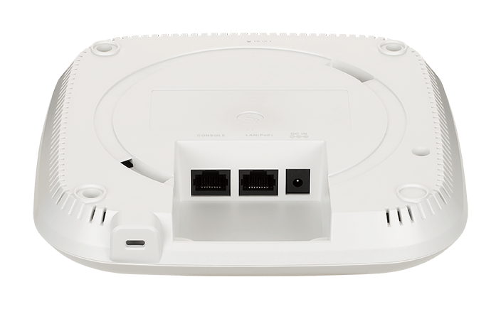 DBA-X1230P AX1800 Wi-Fi 6 Cloud-Managed Access Point - back view.