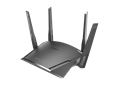 DIR-1960 EXO AC1900 Smart Mesh Wi-Fi Router left angle