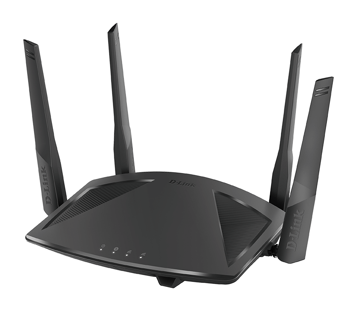 DIR-X1860 AX1800 Wi-Fi 6 Router - Left side