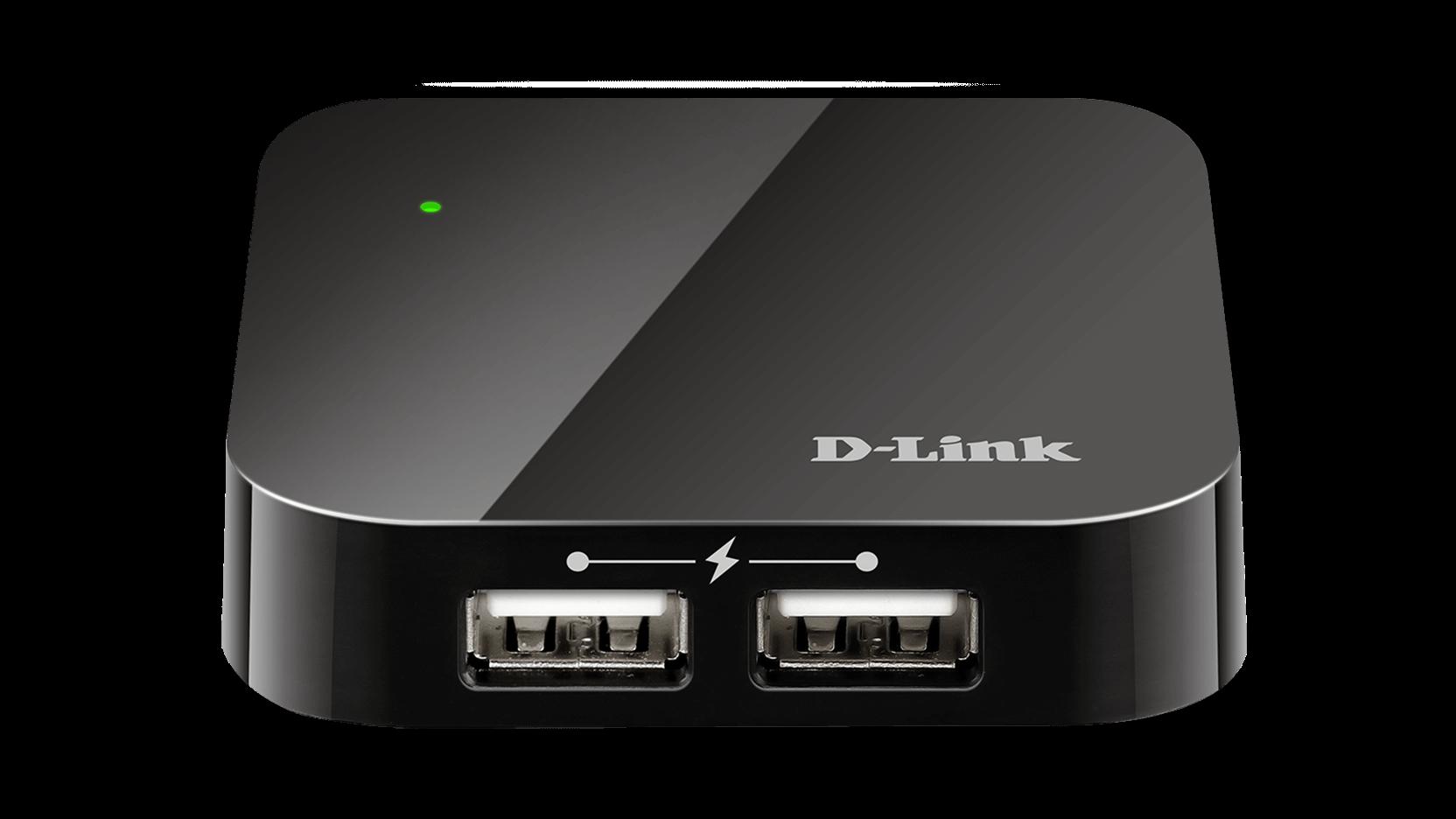 DUB-H4 Hub 4 ports USB 2.0
