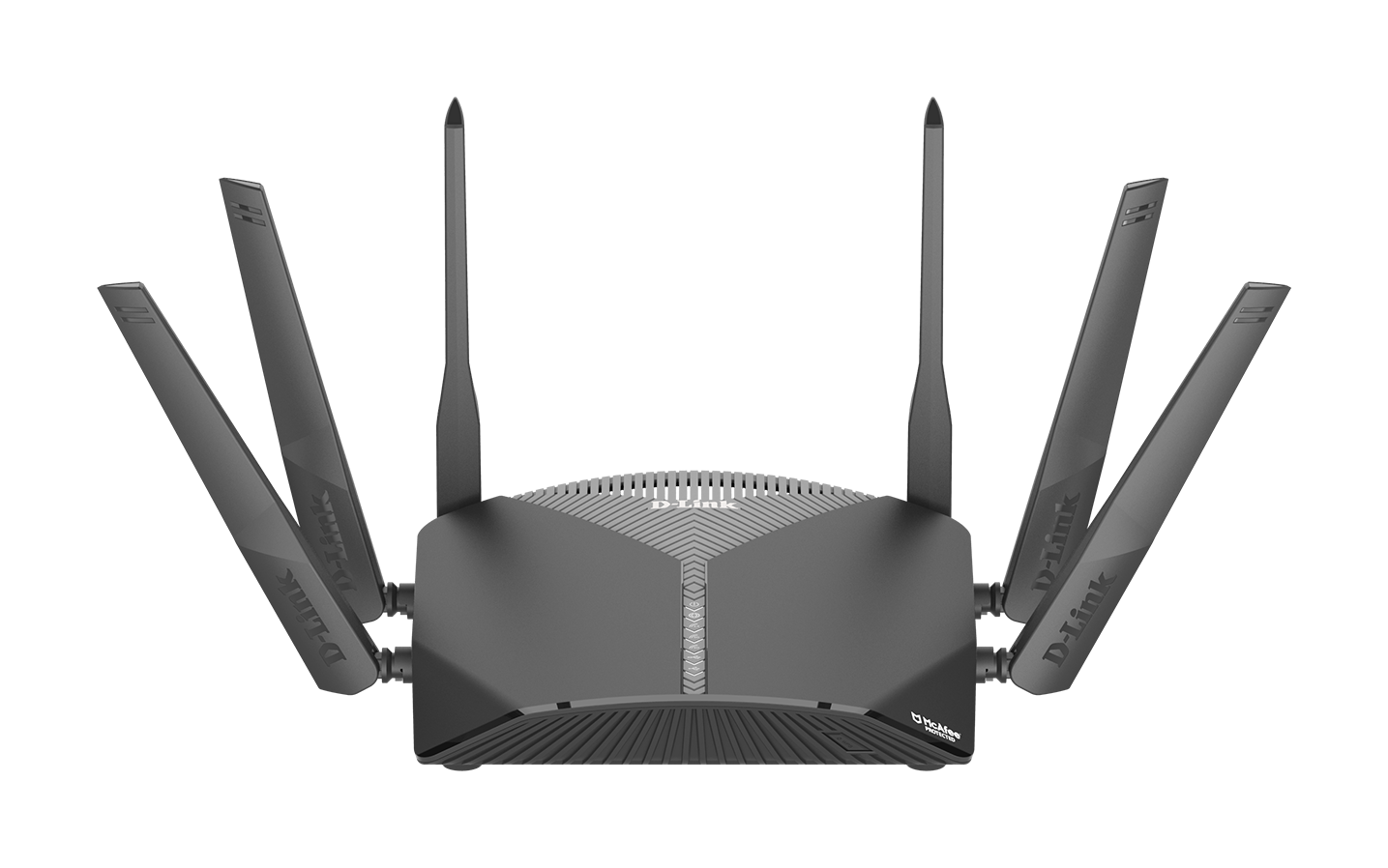 DIR-3060 EXO AC3000 Smart Mesh Wi-Fi Router front high angle