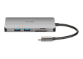 DUB-M610 6-in-1 USB-C Hub with HDMI/Card Reader/Power Delivery  - front