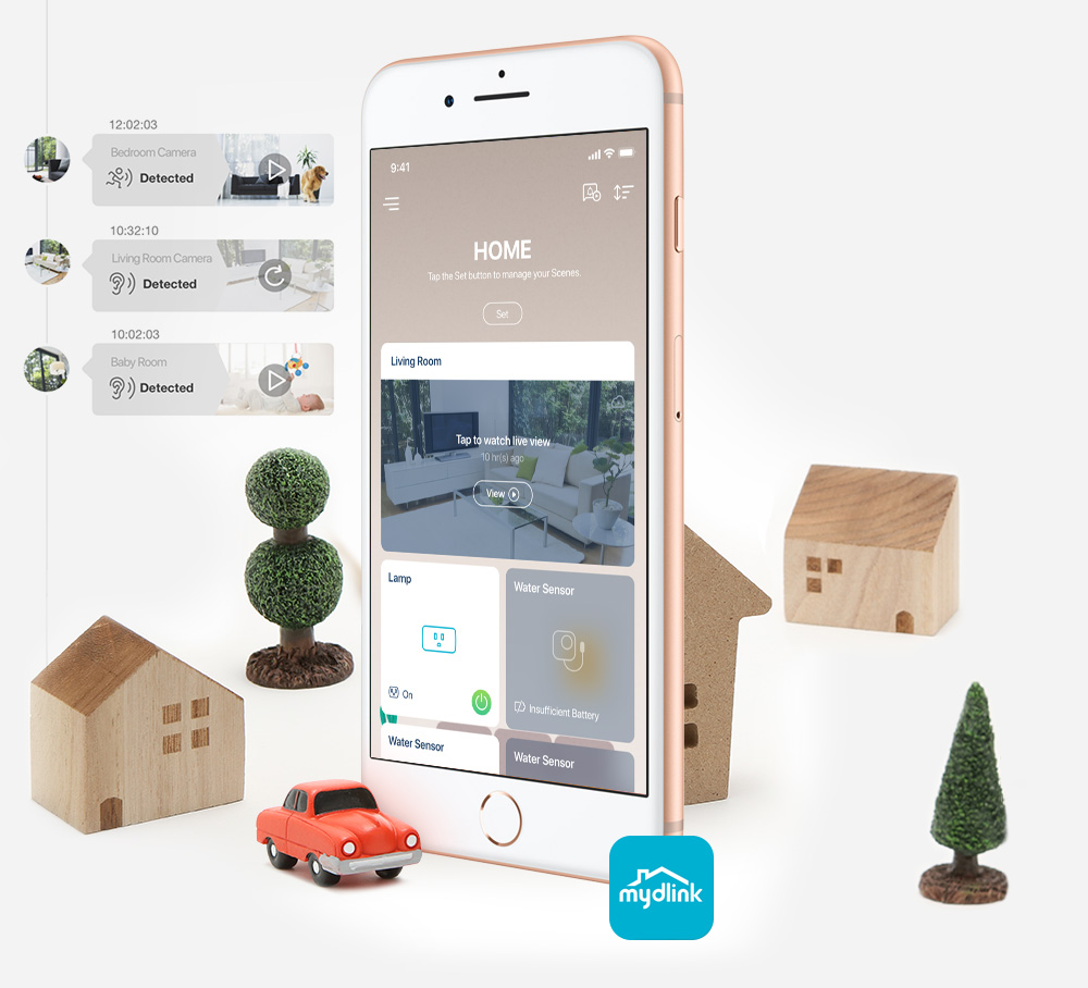 Your smart home in your phone or tablet
