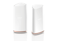 COVR 2202 Tri-Band Whole Home Wi-Fi System - Front and side of two Covr Points
