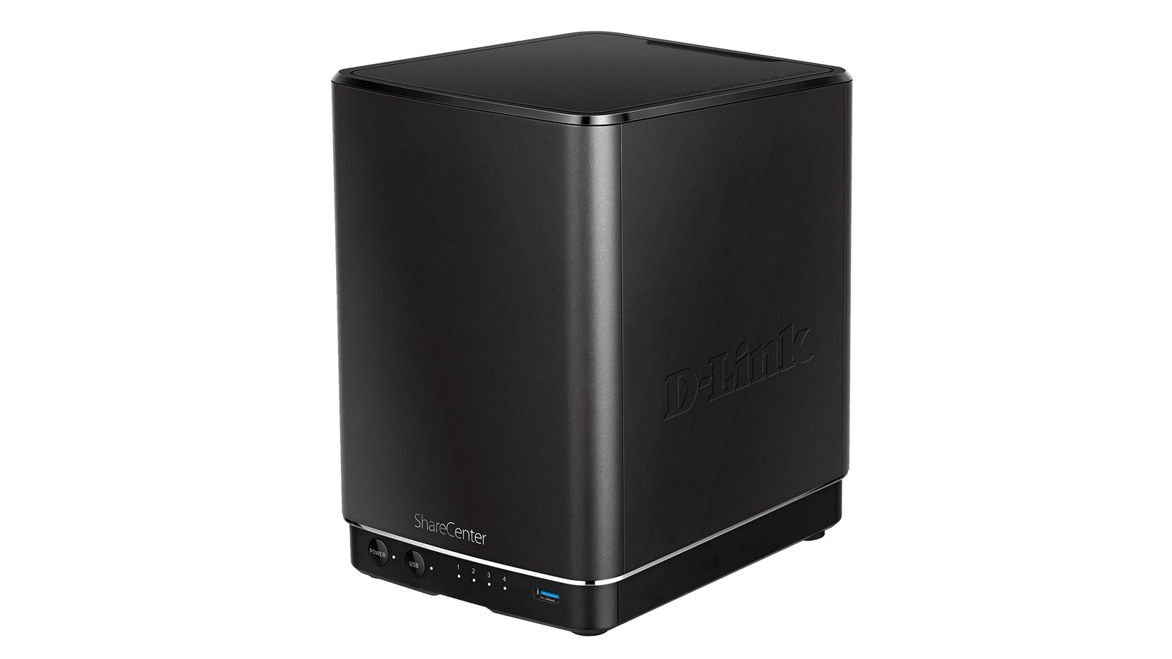 DLink DNS 340L Side Left View