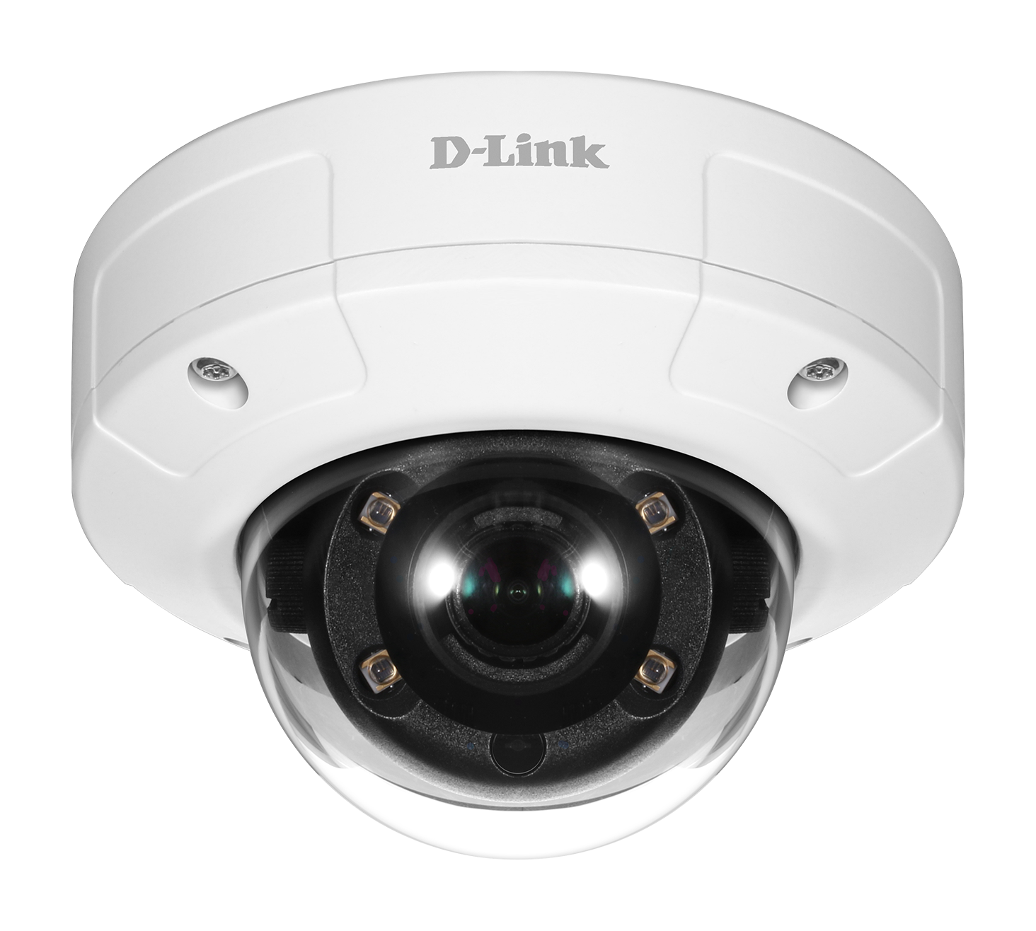 DCS-4633EV Vigilance 3-Megapixel Vandal-Proof Outdoor Dome Camera (front view)