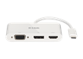 DUB-V310 3-in-1 USB-C to HDMI/VGA/DisplayPort Adapter - front view