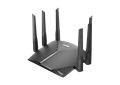 DIR-3060 EXO AC3000 Smart Mesh Wi-Fi Router left side angled