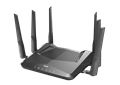 DIR-X5460 AX5400 Wi-Fi 6 Router - left side left view.